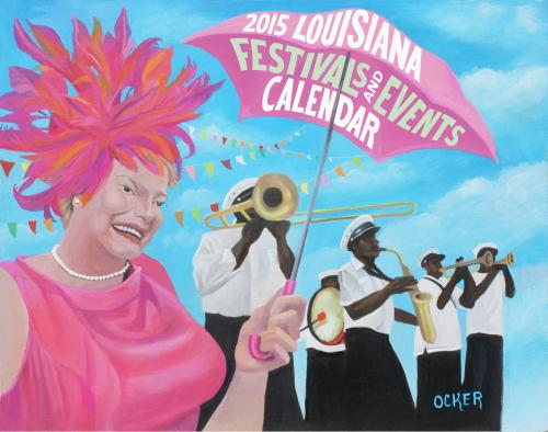 2014 Louisiana Festivals Calendar - click to view