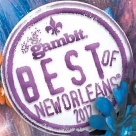 voted Best Locally Owned Bookstore in Gambit's Best of New Orleans 2017 readers' poll