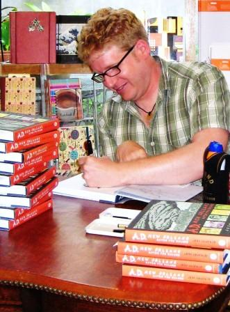 Josh Neufeld at Octavia Books