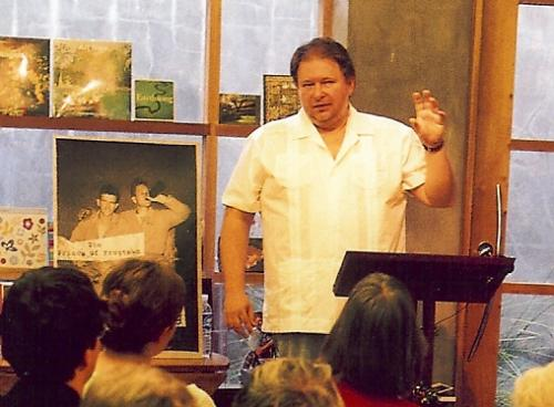 Rick Bragg at Octavia Books