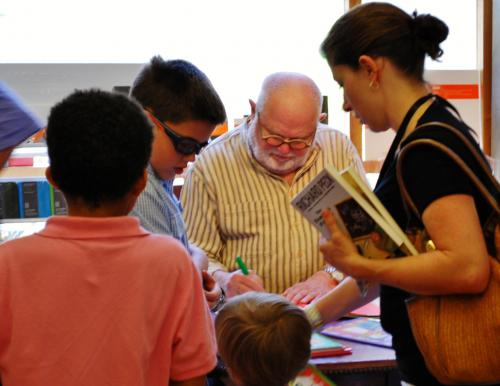 Tomie dePaola - photo by Tom Lowenburg