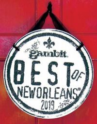 voted Best Locally Owned Bookstore in Gambit's Best of New Orleans 2018 readers' poll