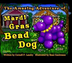 The Amazing Adventure of Mardi Gras Bead Dog